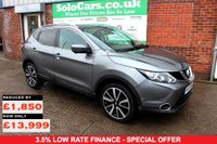 USED 2016 16 NISSAN QASHQAI 1.5 DCI TEKNA 5d 108 BHP +HIGHEST SPEC LEVEL AVAILABLE.