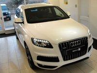 2011 AUDI Q7 3.0 TDI QUATTRO S LINE 5d AUTO 245 BHP, FSH, Sat Nav, 7 Seats, High Specification £17994.00