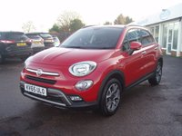 2015 FIAT 500X 1.6 MULTIJET CROSS 5d 120 BHP £10295.00