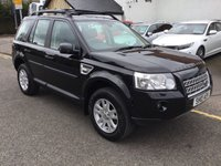 USED 2010 10 LAND ROVER FREELANDER 2.2 TD4 E XS 5d 159 BHP OUR  PRICE INCLUDES A 6 MONTH AA WARRANTY DEALER CARE EXTENDED GUARANTEE, 1 YEARS MOT AND A OIL & FILTERS SERVICE. 6 MONTHS FREE BREAKDOWN COVER.    CALL US NOW FOR MORE INFORMATION OR TO BOOK A TEST DRIVE ON 01315387070 !!
