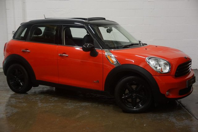 2011 61 MINI COUNTRYMAN 1.6 COOPER D ALL4 5d 112 BHP RARE OPENING PAN ROOF