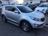 USED 2011 60 KIA SPORTAGE 2.0 FIRST EDITION 5d 160 BHP OUR  PRICE INCLUDES A 6 MONTH AA WARRANTY DEALER CARE EXTENDED GUARANTEE, 1 YEARS MOT AND A OIL & FILTERS SERVICE. 6 MONTHS FREE BREAKDOWN COVER.    CALL US NOW FOR MORE INFORMATION OR TO BOOK A TEST DRIVE ON 01315387070 !! LIKE AND SHARE OUR FACEBOOK PAGE.