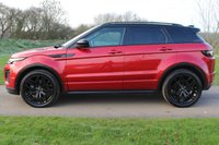 USED 2015 65 LAND ROVER RANGE ROVER EVOQUE 2.0 TD4 HSE DYNAMIC 5d AUTO 177 BHP Low Milage - RED - One owner -