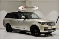 USED 2013 13 LAND ROVER RANGE ROVER 4.4 SDV8 AUTOBIOGRAPHY 5d AUTO 339 BHP EXECUTIVE SEATING PACKAGE