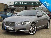 USED 2012 12 JAGUAR XF 3.0 V6 PREMIUM LUXURY 4d AUTO 240 BHP Big Specification