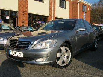 2006 MERCEDES-BENZ S CLASS 3.5 S350 4d AUTO 272 BHP £7995.00