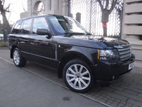USED 2012 12 LAND ROVER RANGE ROVER 4.4 TDV8 VOGUE 5d AUTO 313 BHP FINANCE ARRANGED***PART EXCHANGE WELCOME***SAT NAV***SUNROOF***PARKING SENSORS***2 OWNERS***6 SERVICE STAMPS