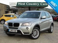USED 2011 61 BMW X3 2.0 XDRIVE20D SE 5d AUTO 181 BHP Well Cared For And Easy To Drive