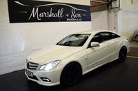2011 MERCEDES-BENZ E CLASS 3.0 E350 CDI BLUEEFFICIENCY SPORT 2d AUTO 231 BHP COUPE £12799.00