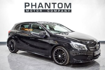 2015 MERCEDES-BENZ A CLASS 1.5 A180 CDI AMG NIGHT EDITION 5d AUTO 107 BHP £16290.00