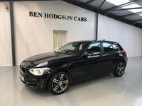 2015 BMW 1 SERIES 2.0 116D SPORT 5d 114 BHP £11995.00