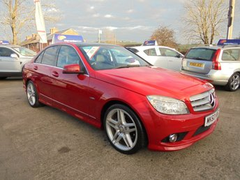 2010 MERCEDES-BENZ C CLASS 2.1 C250 CDI BLUEEFFICIENCY SPORT 4d AUTO 204 BHP * PAN ROOF* LEATHER* STUNNING THROUGHOUT* £8950.00