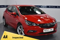 USED 2015 65 VAUXHALL ASTRA 1.0 SRI ECOFLEX S/S 5d 105 BHP (ONLY 25,000 MILES)