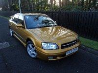 2001 SUBARU LEGACY 2.5 GX AWD 4d AUTO 156 BHP