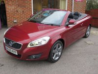 USED 2010 60 VOLVO C70 2.0 D3 SE LUX GEARTRONIC 2d AUTO 150 BHP 1 OWNER AUTOMATIC LOW MILEAGE, NICE EXTRAS.FINANCE ME TODAY-UK DELIVERY POSSIBLE