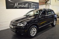 USED 2011 61 VOLKSWAGEN TOUAREG 3.0 V6 SE TDI BLUEMOTION TECHNOLOGY 5d AUTO 242 BHP ONE PREVIOUS KEEPER - LEATHER - NAV - PDC - ROOF BARS