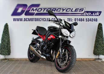 View our TRIUMPH STREET TRIPLE 675