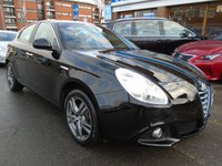 USED 2015 65 ALFA ROMEO GIULIETTA 1.4 TB MULTIAIR DISTINCTIVE 5d 170 BHP 1 OWNER, FULL DEALER HISTORY