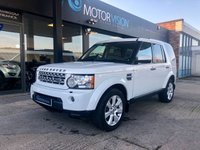 2013 LAND ROVER DISCOVERY 4 3.0  SDV6 HSE 5d AUTO 255 BHP £22495.00