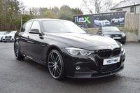 2017 BMW 3 SERIES 2.0 320D XDRIVE M SPORT 4d AUTO 188 BHP £21595.00