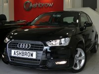 USED 2015 65 AUDI A1 1.6 TDI SPORT 3d 115 S/S £1690 OF OPTIONAL EXTRAS, UPGRADE SAT NAV, UPGRADE COMFORT PACK INCLUDING REAR PARKING SENSORS CRUISE CONTROL AUTO DIMMING REAR VIEW MIRROR AUTO LIGHTS WITH HIGH BEAM ASSIST & WINDSCREEN SUN BAND, UPGRADE ELECTRIC FOLDING HEATED DOOR MIRRORS, UPGRADE HEATED FRONT WASHER NOZZLES, DAB RADIO, BLUETOOTH PHONE & MUSIC STREAMING, AUDI MUSIC INTERFACE (AMI), LEATHER MULTIFUNCTION STEERING WHEEL, DRIVE SELECT, AIR CONDITIONING, 1 OWNER FROM NEW, FULL SERVICE HISTORY, £0 ROAD TAX