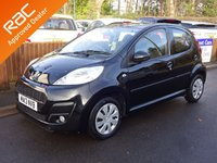 USED 2013 13 PEUGEOT 107 1.0 ACTIVE 5dr, £0 Road Tax! YES ONLY 60,000 MILES FROM NEW, FULL SERVICE HISTORY