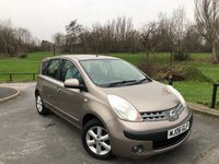 2006 NISSAN NOTE 1.4 SE 5d 87 BHP £SOLD