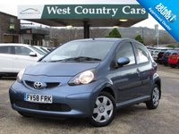 USED 2008 58 TOYOTA AYGO 1.0 BLUE VVT-I 5d 68 BHP Low Mileage and Running Costs