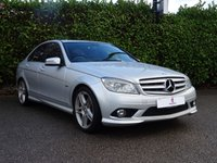 """USED 2009 59 MERCEDES-BENZ C CLASS 2.1 C220 CDI BLUEEFFICIENCY SPORT 4d AUTO 170 BHP Service History, 18"""" AMG Alloy Wheels, Climate Control, Bluetooth, Finished In Silver Metallic Paintwork, Rear Parking Sensors, Air Conditioning, Cruise Control, Privacy + Tinted Glass, Electric Folding Mirrors, Front + Rear Fog Lights, Drive Away In Under 1 Hour"""