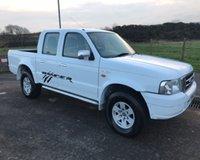 2004 FORD RANGER 2.5 TD XLT 4X4 NO VAT 4DR NO VAT PICK UP 107 BHP £3999.00