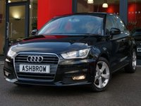 USED 2015 15 AUDI A1 SPORTBACK 1.6 TDI SPORT 5d 115 S/S UPGRADE COMFORT PACK INCLUDING REAR PARKING SENSORS CRUISE CONTROL AUTO DIMMING REAR VIEW MIRROR AUTO HEADLIGHTS WITH HIGH BEAM ASSIST & WINDSCREEN SUN BAND, DAB RADIO, BLUETOOTH PHONE & MUSIC STREAMING, AUDI MUSIC INTERFACE (AMI), 16 INCH 5 SPOKE ALLOYS, GREY TORNADO CLOTH INTERIOR, SPORT SEATS, LEATHER MULTIFUNCTION STEERING WHEEL, AIR CONDITIONING, CD & SD CARD READER, TYRE PRESSURE MONITORING SYSTEM, 1 OWNER FROM NEW, FULL SERVICE HISTORY, £0 ROAD TAX