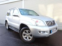 USED 2006 06 TOYOTA LAND CRUISER 3.0 LC4 8-SEATS D-4D 5d AUTO 164 BHP