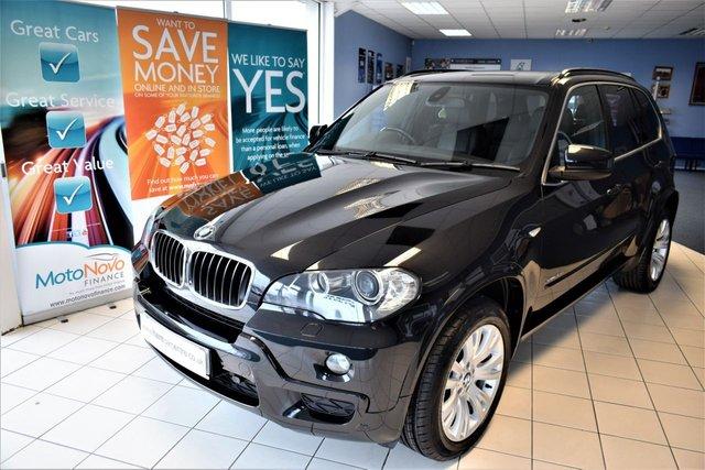 2009 BMW X5 3.0 XDRIVE30D M SPORT 5d AUTO 232 BHP 7 SEATER SAT-NAV