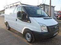 2013 FORD TRANSIT 2.2 T300 LOW ROOF, 99 BHP, AIR CONDITIONING, ROOF RACK £6995.00