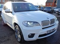2010 BMW X5 3.0 XDRIVE40D M SPORT 5d AUTO 302 BHP £16415.00