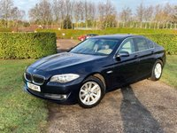 USED 2011 11 BMW 5 SERIES 2.0 520D SE 4d AUTO 181 BHP FBMWSH, PRO NAV, Mint Example Full BMW Service History, 8 Services, Recently Serviced, MOT 12/19, X2 Keys, Full Map Pro Navigation, Music Jukebox Rips + Saves Cds To Hard Drive Storage, Full Cream Leather Upholstery, Heated Electrically Adjustable Seats, X4 Matching Pirelli Run Flat Tyres With 5mm+, Bluetooth Handsfree And Media Streaming, DAB/Cd/Stereo/USB/Aux Sockets, Dual Zone Climate Aircon, Incredibly Clean And Tidy Example, Front And Rear PDC, Walnut Burr Wooden Dash, Power Fold Mirrors, Cruise Control With Speed Limit