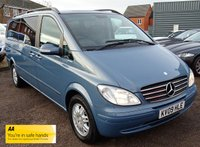 USED 2009 09 MERCEDES-BENZ VIANO 2.1 CDI EXTRA LONG AMBIENTE 5d AUTO 150 BHP 8 SEATS  LAST STAMP IN BOOK AT 51,974 MILES 1 PREVIOUS KEEPER