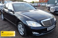 USED 2008 58 MERCEDES-BENZ S CLASS 3.0 S320 CDI 4d AUTO 231 BHP MERCEDES BENZ SERVICE HISTORY. BLACK LEATHER