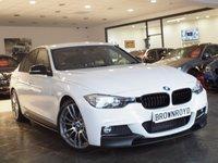 USED 2015 65 BMW 3 SERIES 3.0 330D M SPORT 4d 255 BHP M PERFORMANCE STYLING+SAT NAV