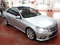 2011 MERCEDES-BENZ E CLASS 3.0 E350 CDI BLUEEFFICIENCY SPORT 4d AUTO 265 BHP £11995.00