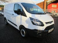 USED 2015 15 FORD TRANSIT CUSTOM 290 SWB Low roof L1 H1 100 PS *F+R PDC*BLUETOOTH* FACTORY BLUETOOTH - FRONT AND REAR PARKING SENSORS