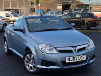 USED 2007 07 VAUXHALL TIGRA 1.4 16V TWINPORT 2d 90 BHP *5 Service Stamps, Alloys, 12 Months MOT*
