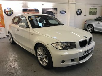 2010 BMW 1 SERIES 2.0 116I M SPORT 5d 121 BHP £7990.00