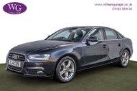 2014 AUDI A4 2.0 TDI SE TECHNIK 4d 134 BHP £10295.00