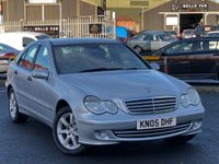 USED 2005 05 MERCEDES-BENZ C CLASS 1.8 C180 KOMPRESSOR CLASSIC SE 4d AUTO 141 BHP *LOW MILEAGE, 12 MONTHS MOT, GREAT VALUE!*
