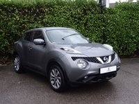 USED 2014 64 NISSAN JUKE 1.5 TEKNA DCI 5d 110 BHP Full Main Dealer Service History, Supplying Dealer + One Owner From New, Leather Trim, Privacy Glass, Climate Control, Reverse Camera, Finished In Grey Metallic Paintwork, Electric Mirrors, Electric Windows, Drive Away In Under 1 Hour