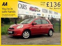 2012 NISSAN MICRA 1.2 TEKNA DIG-S 5d AUTO 97 BHP £6500.00