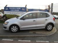 USED 2011 11 VOLKSWAGEN POLO 1.2 S 5d 70 BHP 11 Stamps Of Service History .New MOT & Full Service Done on purchase + 2 Years FREE Mot & Service Included After . 3 Months Russell Ham Quality Warranty . All Car's Are HPI Clear . Finance Arranged - Credit Card's Accepted . for more cars www.russellham.co.uk  - Owners Book Pack.