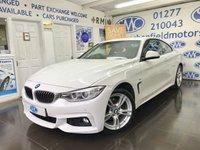 2014 BMW 4 SERIES 2.0 420D XDRIVE M SPORT 2d AUTO 181 BHP £17995.00