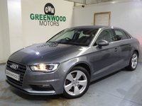 USED 2015 65 AUDI A3 2.0 TDI Sport S Tronic quattro (s/s) 4dr